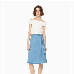 Vintage Kate spade denim skirt